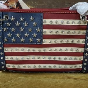 New w/tags Montana West Concealed Carry Purse Flag